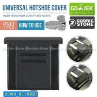 PROMO Boss_store Universal Hot Shoe Cover Cap for Canon / Nikon / Son