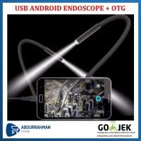 USB Android Endoscope Borescope Camera / Kamera inspeksi Endoskop