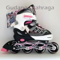 Sepatu Roda Ban KARET / Inline Skate PU Wheels Anak dan Dewasa
