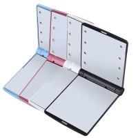 Neo Cermin Rias Portable 8 Led Compact Miror Case