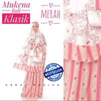 Mukena Bali Klasik Katun Rayon Dewasa Cantik Adem