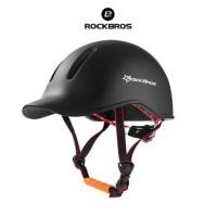ROCKBROS TT-13 Urban City Bike EPS Helmet - Helm Sepeda - BLACK