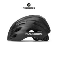 ROCKBROS TT-20 Bike EPS Helmet - Helm Sepeda - BLACK