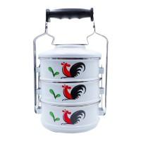 Kedaung Rantang 3 susun Ayam Jago, HNE10760-KI-314 Ayam