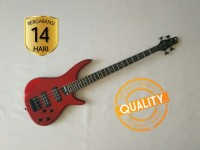 Gitar Bass listrik ibanez SDGR Soundgear merah murah