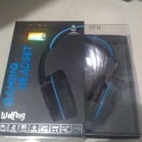 headset gaming sades wolfang