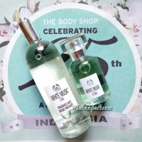 Paket Bodymist & Parfum EDT 30ml White Musk Leau The Body Shop Reject