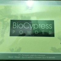 PROMO 1 Box Besar BioCypress Powder (isi 3 box kecil)