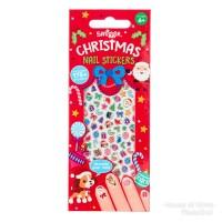 SMIGGLE NAIL STICKERS CHRISTMAS - STICKER KUKU