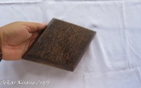 Piring KAYU AREN Model Wajik 25 x 17 cm Paket 20 Pcs