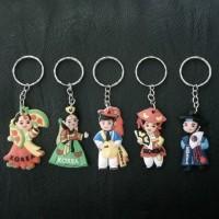 souvenir gantungan kunci korea set isi 5 oleh oleh Korea