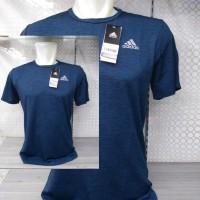 baju kaos olahraga pria adidas fitness import