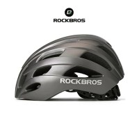 ROCKBROS TT-20 Bike EPS Helmet - Helm Sepeda - TITANIUM