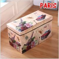 SB002 - JUMBO Storage box / Storage Stool / Tempat Mainan Ukuran 60 cm