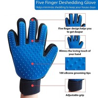 True Touch Pet Glove / Sarung Tangan Sisir Anjing Kucing Grooming
