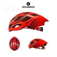 ROCKBROS TT-2 Road Bike EPS Helmet - Helm Sepeda - Red