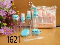 Set Botol Tempat Sabun cair, parfum, cream, dll praktis travel - A.646