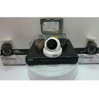 PAKET CCTV 3 KAMERA HISOMU GARANSI PRODUK 1 TAHUN
