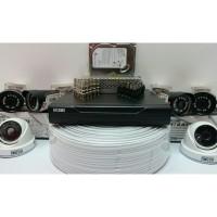 PAKET CCTV 6 KAMERA HISOMU GARANSI PRODUK 1 TAHUN