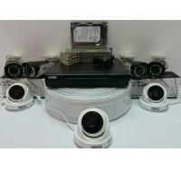 PAKET CCTV 7 KAMERA HISOMU GARANSI PRODUK 1 TAHUN