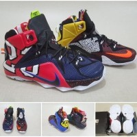 Sepatu Basket NIKE LEBRON 12 - WHAT THE LEBRON