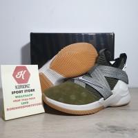 Sepatu Basket Nike Lebron Zoom Soldier XII 12 Land and sea suede