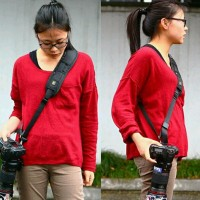 Quick Rapid Camera Sling Strap For Dslr And Mirrorless Canon, Nikon,