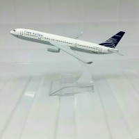 miniatur pesawat copa airlines diecast