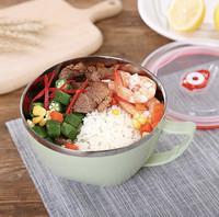 Korean Bowl Mangkuk Mangkok Stainless Steel Airtight Korea Style Makan