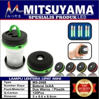 Lentera Camping Led Lipat / Lampu Tenda tarik / Flashlight mitsuyama