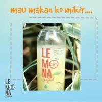 Lemona original sari jus lemon suplemen kecantikan pelangsing diet