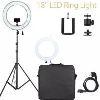 Paket Ring light NG-65C/Light stand/Braket Z/tas