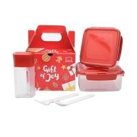 Lock&Lock & Lock n Lock LocknLock Gift Set Lunch Box Alat Tempat Makan