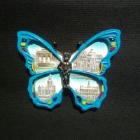 Magnet Kulkas Negara Belgia (Kupu-Kupu Manneken Piss Ikon Brussels)