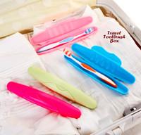Travel Toothbrush Box / Tempat Sikat Gigi Praktis Untuk Traveling