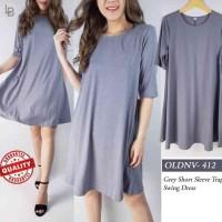 N997 Oldnavy Swing Dress Material Polyester Elestane