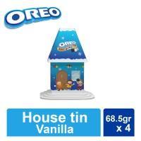 Oreo House Tin - Oreo Vanilla 68.5 x 4 pcs