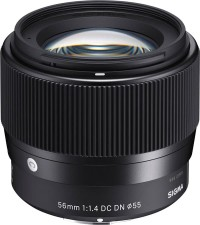 Sigma 56mm f1.4 DC DN Contemporary Lens for Sony E not 30mm 16mm