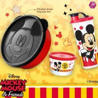 Lunch set like tupperware mickey mouse