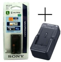 Charger Sony BC-V615 for NP-F570 NP-F770 NP-F970 alat kamera