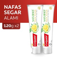 Colgate Naturals Pure Fresh Toothpaste 120gr - Twin pack