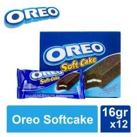 Oreo Soft Cake Bolu Cokelat 16 gr [1 Box Isi 12 pcs]