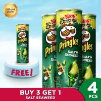 Pringles Salt & Seaweed 107gr Package (4 Pcs)