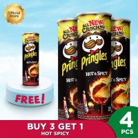 Pringles Hot & Spicy 107gr Package (4 Pcs) [P]