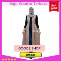 Long Dress Outer Wanita Outer Jeans Outer Wanita Kimono Outer