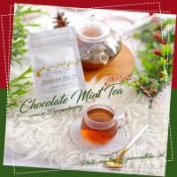 Artisan Tea Cafe - Oolong Chocolate Mint Tea 30gr Daun Teh Loose Leaf