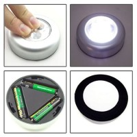 LAMPU TEMPEL / LED TOUCH DARURAT EMERGENCY 3 LED STICK & CLICK 35 Ula