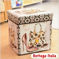 Storage box / Storage Stool / Tempat Mainan / Majalah / Box Simpan