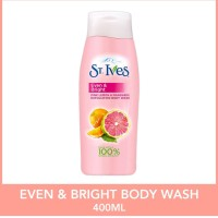 st ives exfoliating body wash 400ml original made in USA