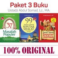 PAKET 3 BUKU original 37 Masalah Populer 99 Seputar Shalat - 33 TJSQ